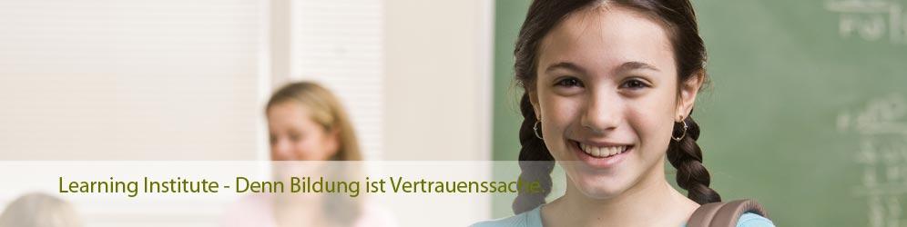 Nachhilfe und Sprachkurse individuell organisiert. Learning Institute - Ihr umfassender Unterrichtsanbieter.